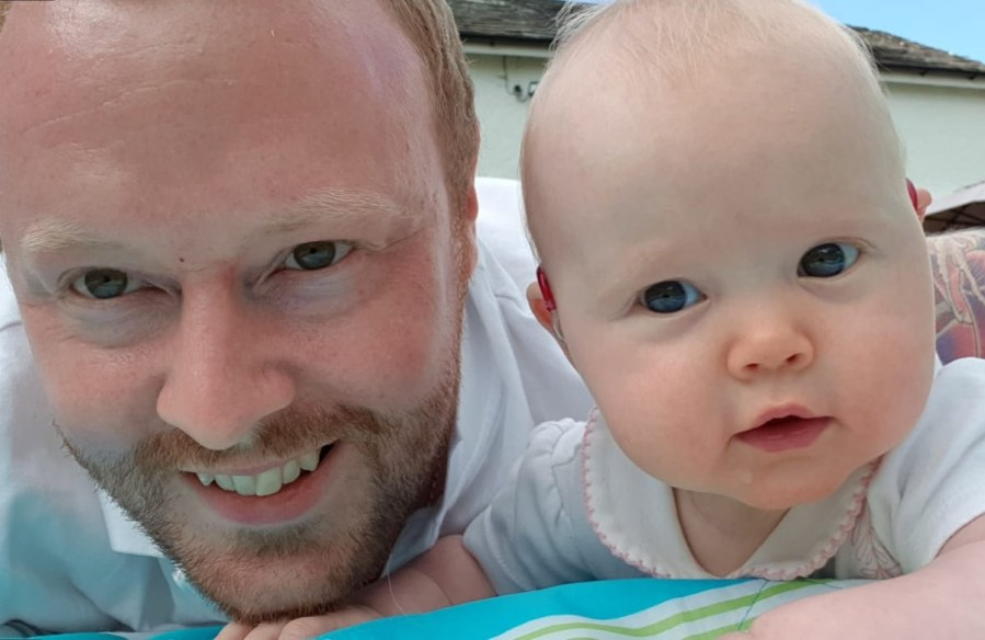 Little Aeris and our hearing loss journey sofar