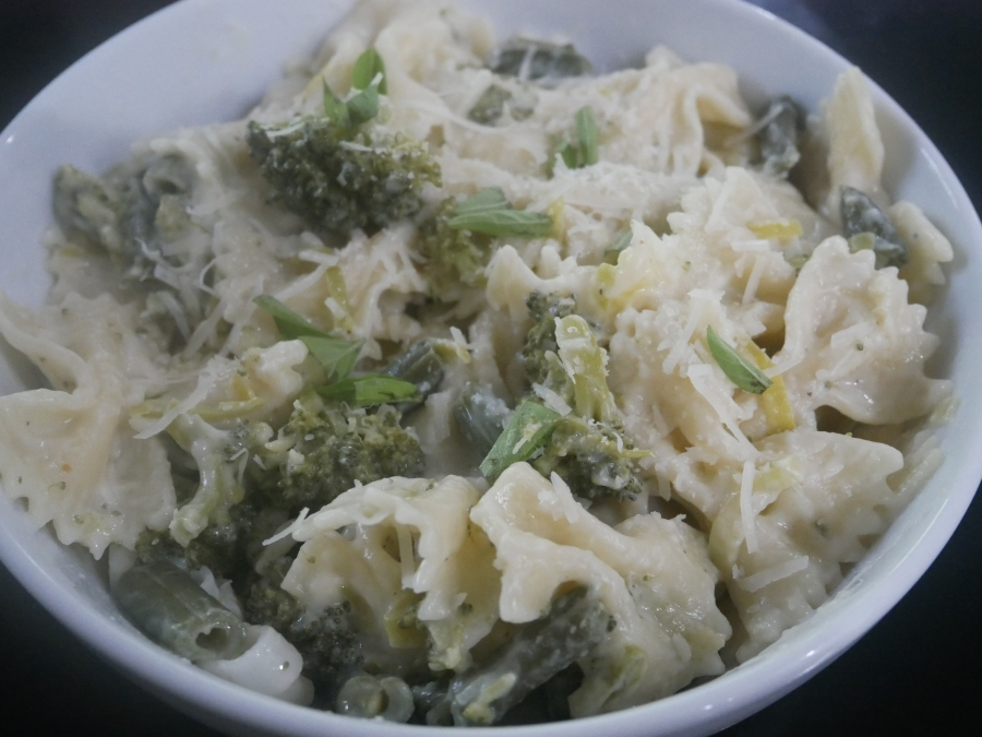 Creamy Spring Pasta //Recipe