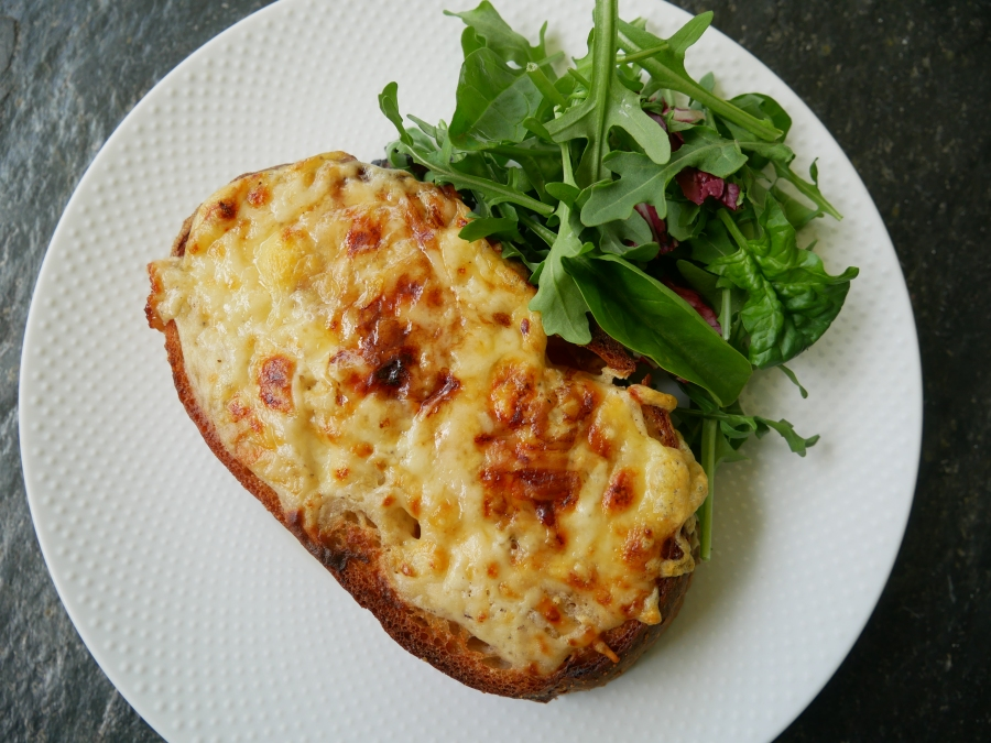 Posh Cheese Toastie – Croque Rarebit or Welsh Monsieur?