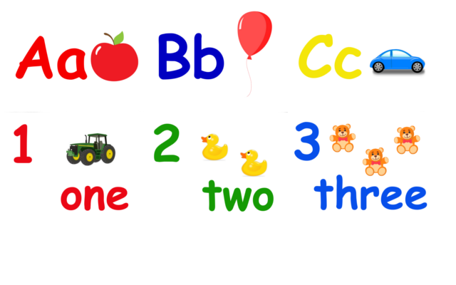 Playroom Posters // Alphabet & Numbers